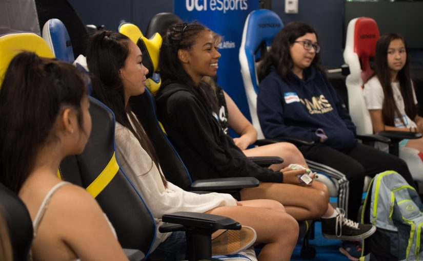 UCI Esports Hosts Third Annual Girls in Gaming Summer Camp
