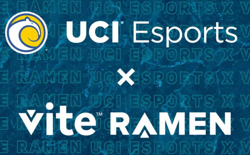 UCI Esports Unveils Partnership with Vite Ramen