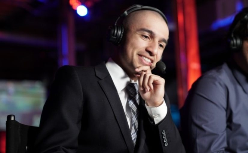 Esports Shoutcaster Anthony Ortega